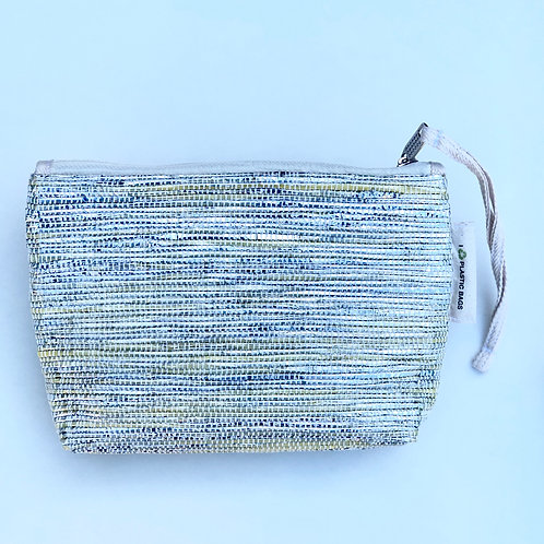 Silver and Gold make up bag/clutch