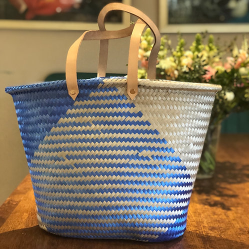 Blue/silver Mexican strong eco-friendly tote