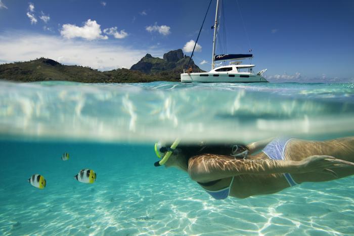 Snorkeling Pearl Farm Safari for Yachts
