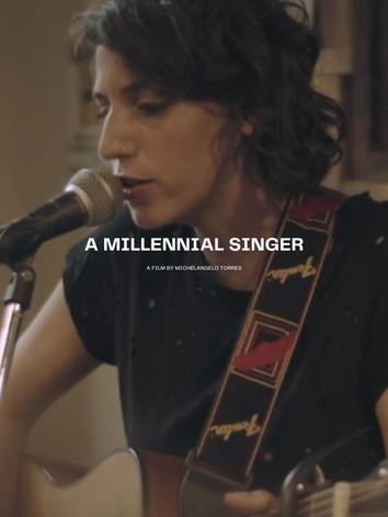 A Millennial Singer
