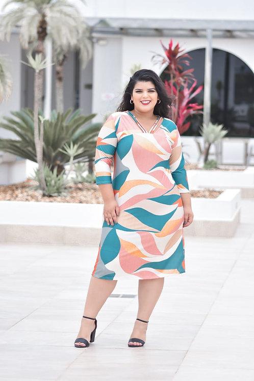 Vestido Michelle Plus size