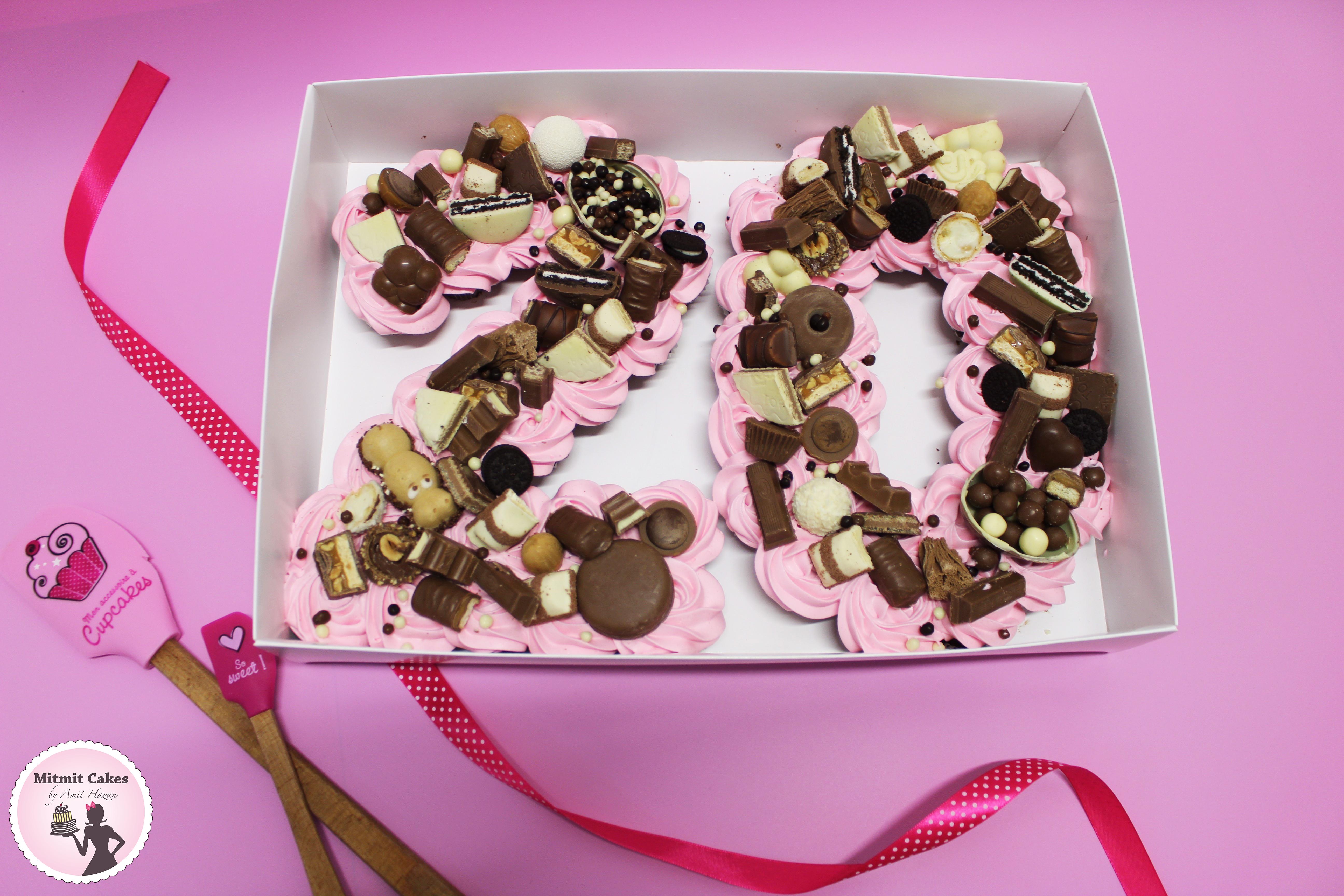 עוגת מיני קאפקייקס