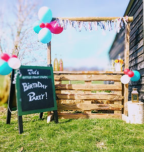 Personalised Party Signage