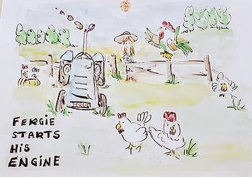 Fergie Starts His Engine.jpg