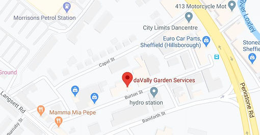 davally Garden Services location map.JPG