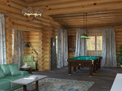 Деревянный дом на Новой Риге