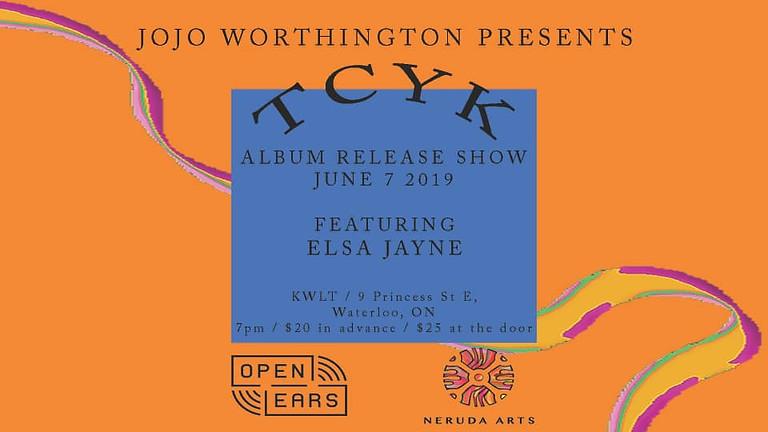 Jojo Worthington: The Company you keep Album release