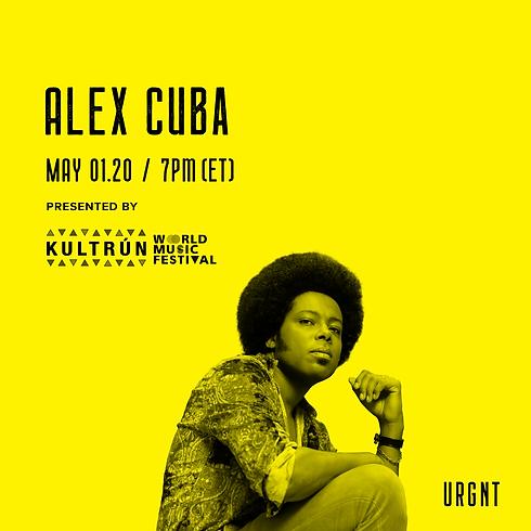Alex Cuba Live Stream