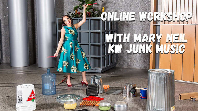 Open Mic Junk Music Coffee House with Mary Neil