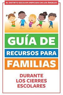 LAUSD Guia De Recursos Para Familias cov