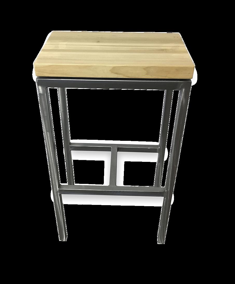 Industrial furniture sofa - Floating Seat Bar Stool