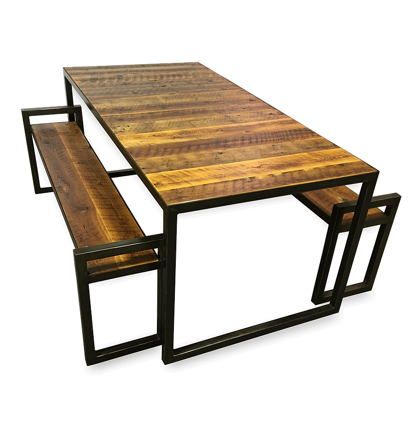 Rustic-Barn-Wood-Patio-Table-1 - Montana Angle Worx - Refined Industrial Furniture