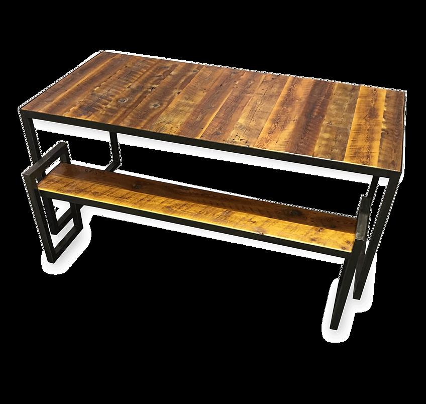 ... Rustic Barn Wood Patio Table 2 ...