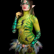 Fairy body painting