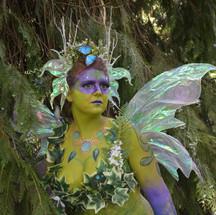 fairy body painting - RBF