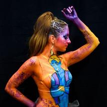 Body painting génie