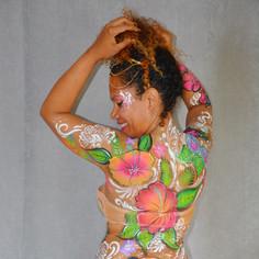 Body paint Tropical