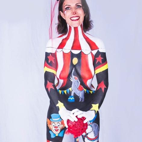 Body painting Circus