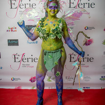 Body painting France - fairy