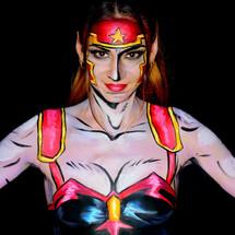 Body Painting Artemis of Bana