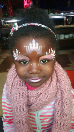 face painting  princesse