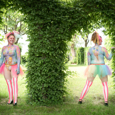 Body Painting patisserie - RBF 2018
