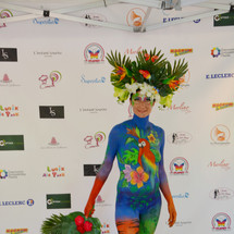 Body painting France 2019