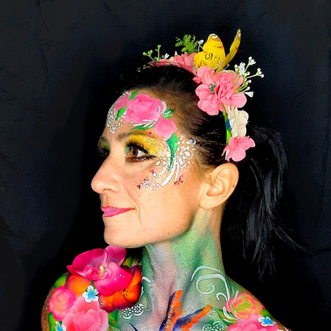 face painting exotique