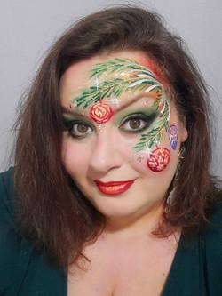 face painting de Noël