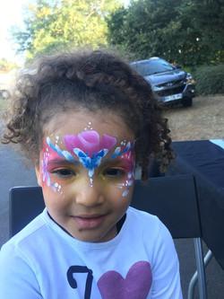 Maquillage princesse fleur