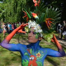 Rencontre Body painting France 2019