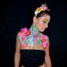 Maquillage artistiques - fleurs