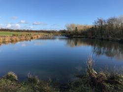 Lake just a short walk away