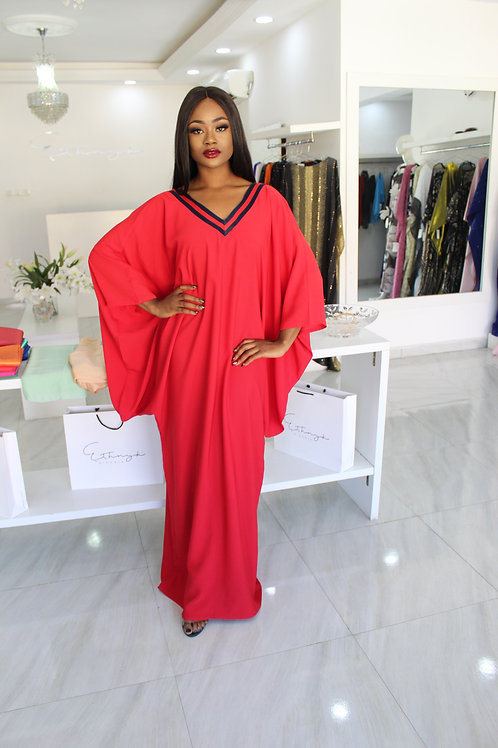 Ego Red Kaftan