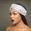 Thumbnail: Ileri Turban Band Silver Sequin