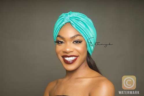 Peju Mint Turban
