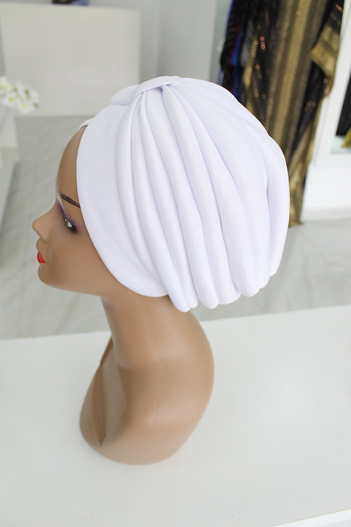 Peju White Turban