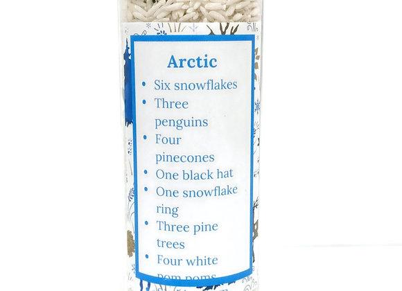 Arctic I spy bottle
