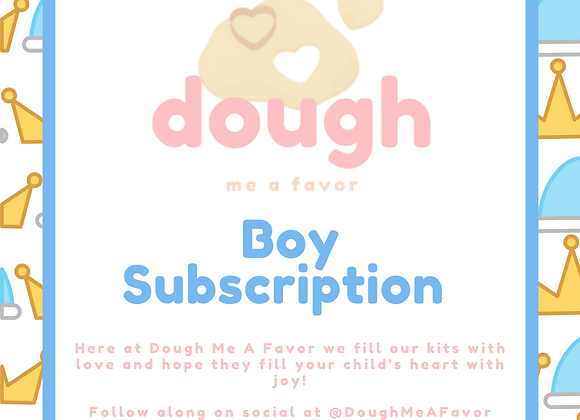 Monthly Subscription Kit | Boy