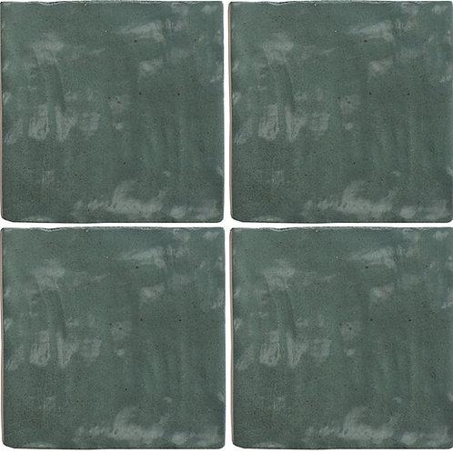 Azulejo Riad Green 10 x 10