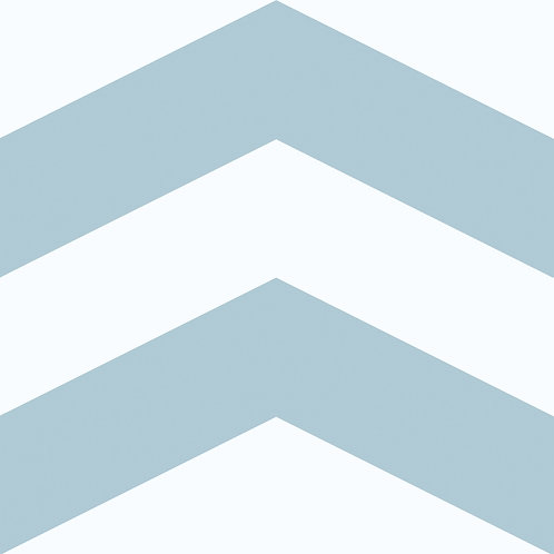 Porcelánico Chevron Blue
