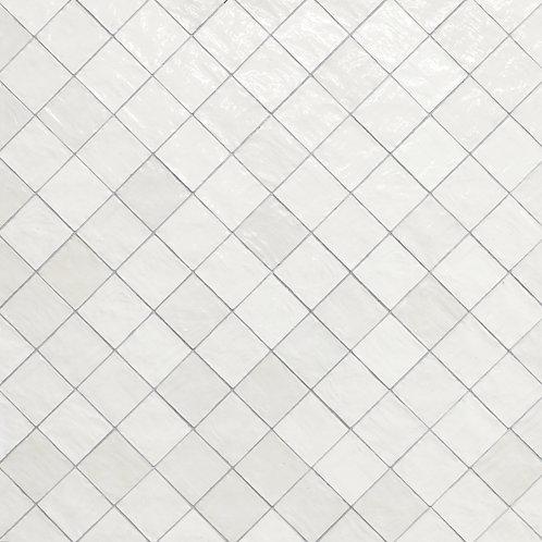Azulejo Riad White 10 x 10