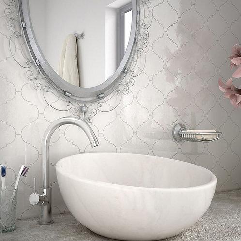 Mosaico Alhambra Blanco Brillo