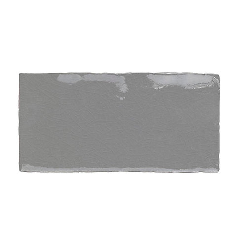 Azulejo Craquelle  Gris 7,5 x 15