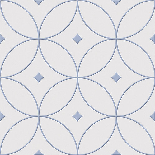 Porcelánico Alhambra azul