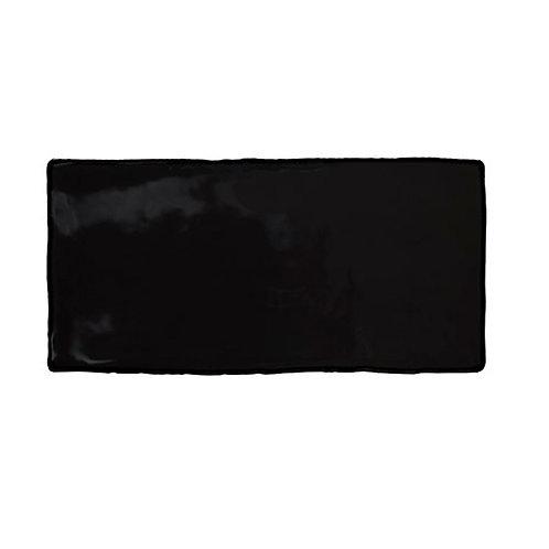 Azulejo Epoque Noir 7,5 x 15