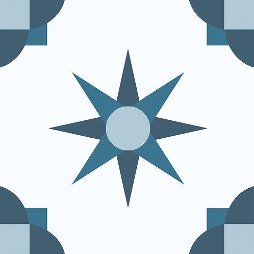 Porcelanico Elmas Blue