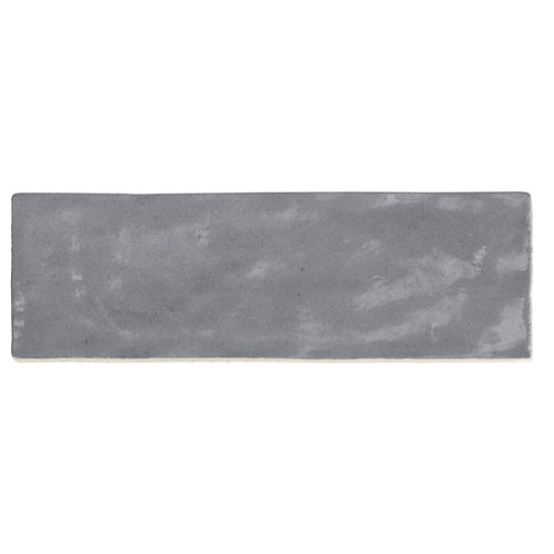 Azulejo Riad Grey 6.5 x 20
