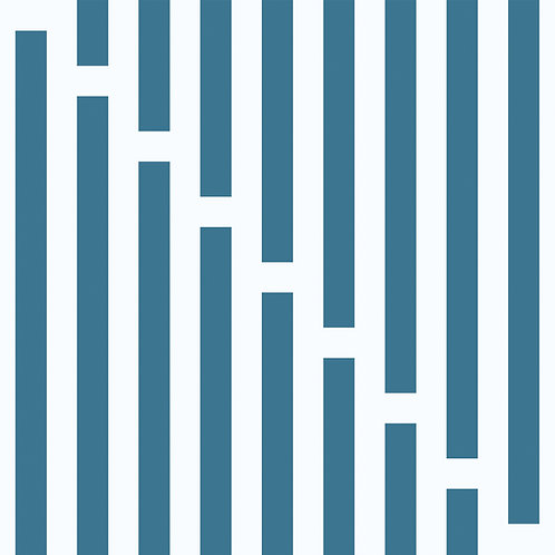 Porcelanico Lines Blue