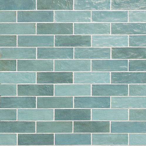 Azulejo Riad Aqua 6.5 x 20